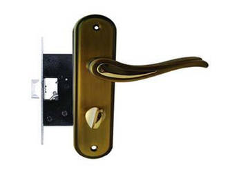 Ручка защелка FZB 15-98 BK-71001 SB-GP PB