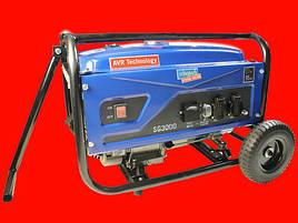 Бензиновый генератор на 3 кВт Scheppach SG 3000