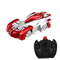 Антигравитационная машинка CLIMBER WALL радиоуправляемая игрушка Красная