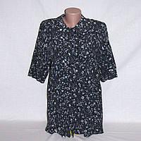Рубашка женская, блуза Street One удлиненная р.48-50 цветочный принт
