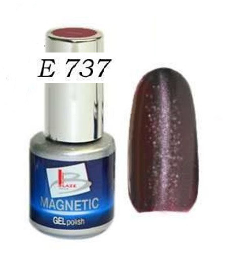 Blaze Magnetic Gel Polish - Магнитный гель-лак, E737, 4 мл