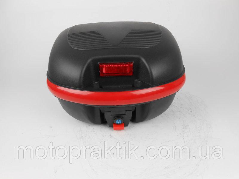 Кофр пластиковый FXW HF-852 Черный 28л (на один шлем)