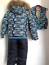 Зимние комбинезоны детские для мальчиков, фото 3