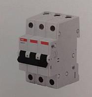 Автоматический выключатель АВВ 3р 16А, С, 4,5кА