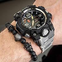 Мужские спортивные часы Casio G-Shock GWG-1100 SAND COMO копия, фото 1