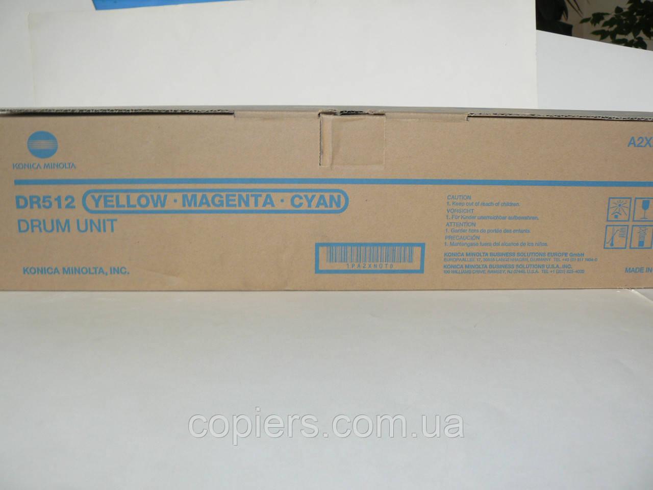 Drum Unit DR512 Color Konica Minolta, dr-512, A2XN0TD