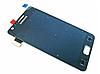 Оригинальный дисплей (модуль) + тачскрин (сенсор) для Samsung Galaxy S2 i9100 (черный цвет, Super AMOLED)