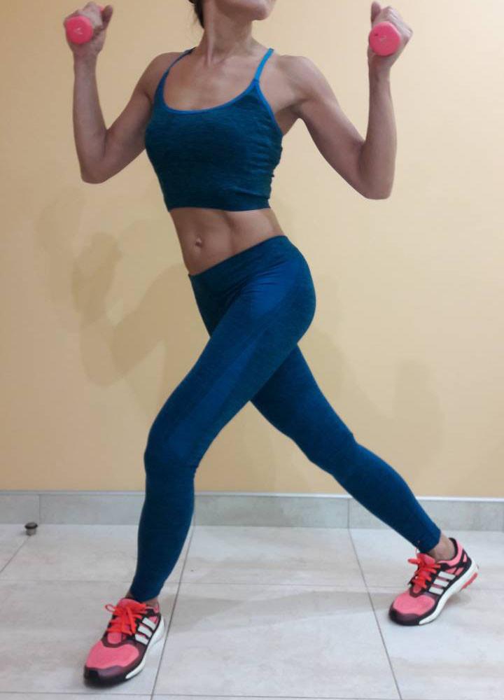 Комплект для фитнеса  женский Maraton  майка+лосины