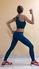 Комплект для фитнеса  женский Maraton  майка+лосины , фото 3