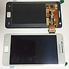 Оригинальный дисплей (модуль) + тачскрин (сенсор) для Samsung Galaxy S2 i9100 (белый цвет, Super AMOLED)