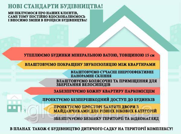 НОВІ СТАНДАРТИ БУДІВНИЦТВА!