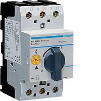 Автоматичний вимикач для захисту двигуна, Iуставки=6,0-10,0 А, 2,5М код MM510N HAGER РАСПРОДАЖА