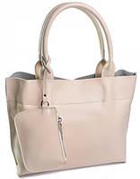 Женская кожаная сумка 1027G Beige женские сумки из натуральной кожи купить дешево в Одессе