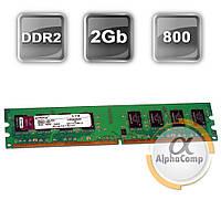 Модуль памяти DDR2 2Gb Kingston (KVR800D2N6/2G) 800 (AMD only)