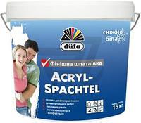 Шпаклівка фінішна Acryl - Spachtel Dufa 16 кг