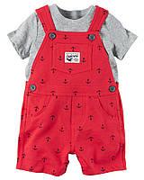 Комплект одежды с комбинезоном для мальчика 2 в 1 Carters