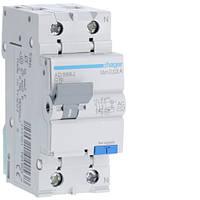 Диференційний автоматичний вимикач 1P+N 4.5kA C-16A 30mA AC код AD866J