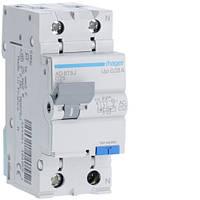 Диференційний автоматичний вимикач 1P+N 4.5kA C-25A 30mA AC код AD875J