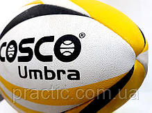 Регбійний м'яч COSCO Umbra Yellow SIZE 5, фото 2