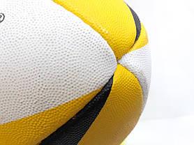 Регбійний м'яч COSCO Umbra Yellow SIZE 5, фото 3