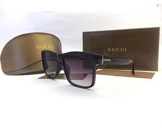 Солнцезащитные очки Gucci (6349) black SR-813