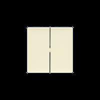 Клавиша выключателя 2-клавишного Valena Life Legrand, цвет слоновая кость