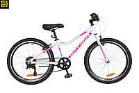 "Велосипед 24"" Optimabikes Blackwood 2018 бело-розовый"
