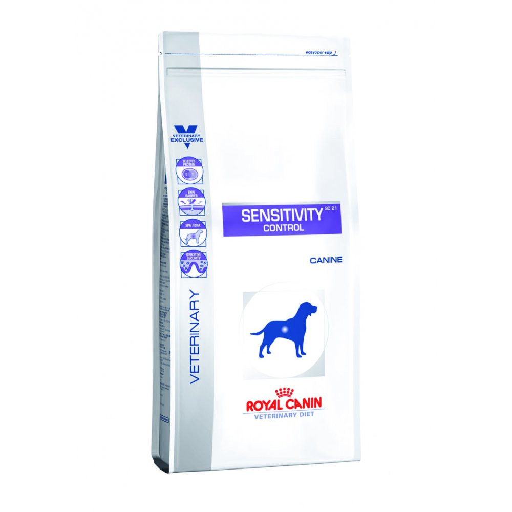 Royal canin sensitivity control canine 1,5 кг лечебный корм.