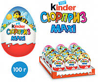 Яйцо Kinder Cюрприз Maxi Весенняя серия 100 г