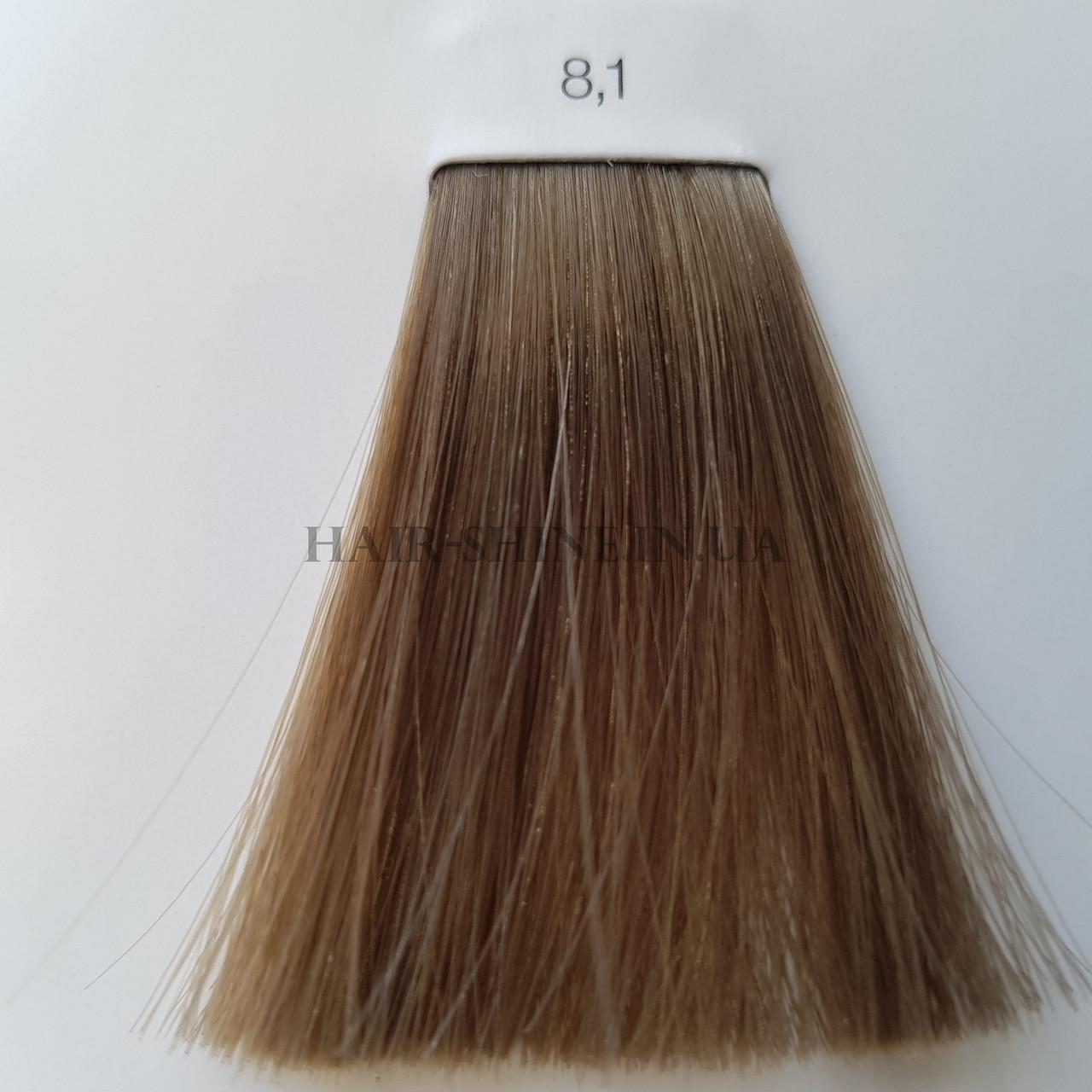 Краска без аммиака 60 мл  L'Oreal Professionnel Inoa 8.1 Светлый блондин пепельный
