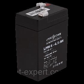 Акумулятор AGM LPM 6-4.5 AH