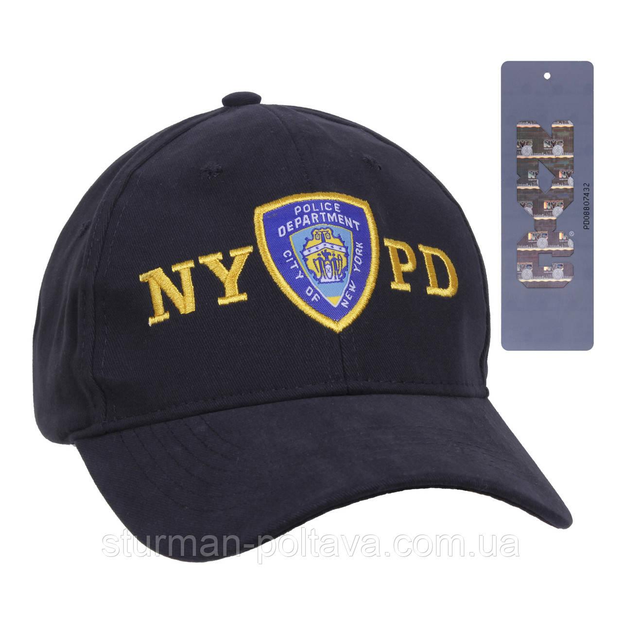 Бейсболка полиция   ''NYPD''  Rotcho с шевроном   США