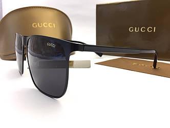 Солнцезащитные очки Gucci (0821) black SR-814