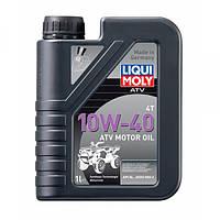 Синтетическое моторное масло Liqui Moly Motorbike 4T 10W-40 Street 1 л.