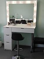 """Туалетный столик-трансформер """"ВИКТОРИЯ"""",  визажный стол, стол для парикмахера"""