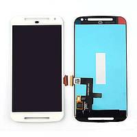Модуль Motorola XT1062 Moto G2/XT1063/XT1064/XT1068 white