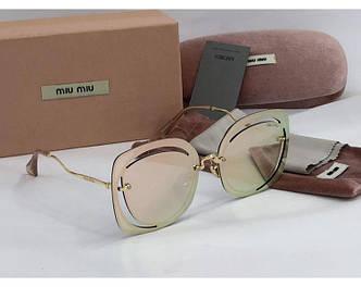 Солнцезащитные очки Miu Miu (58) rose SR-817