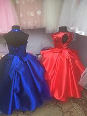 Детское нарядное бальное платье на праздник на 6-7 лет., фото 3