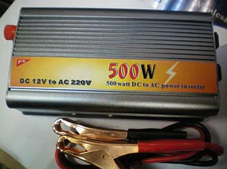 Преобразователь напряжения 12-220V 500W