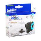 Картридж струйныий InkTec для Brother LC39C, LC985C/ DCP-J125/ J315W/ J515W, MFC-J265W/ J410/ J415W, Cyan