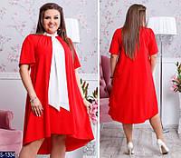 Платье S-1334 (48, 50, 52, 54) — купить Платья XL+ оптом и в розницу в одессе 7км