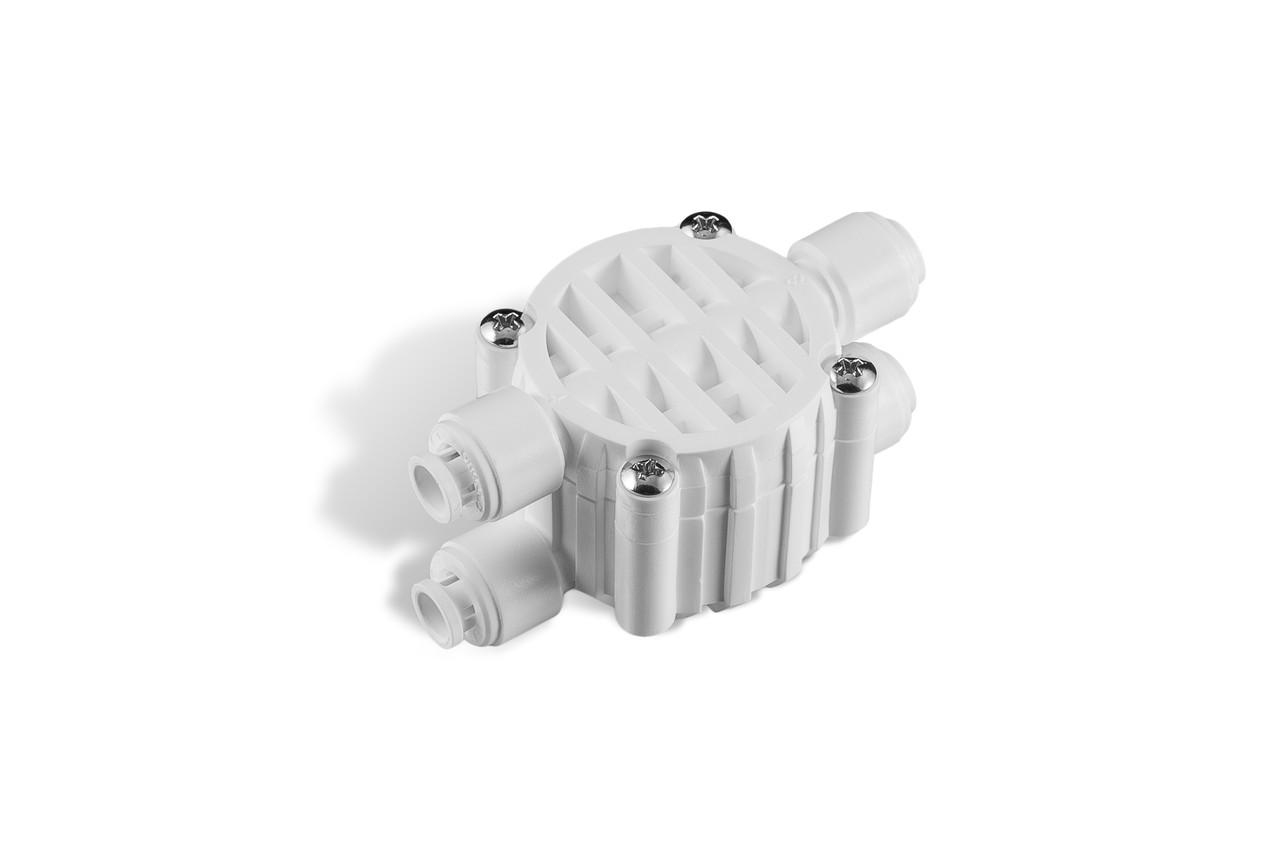 """Клапан четырехходовой ¼"""" OD WB-CV0201W-Q"""