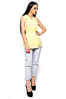 Женский пиджак Karree Кристи светло-желтый