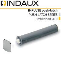 Демпфер врезной Indaux Impuls push-latch вынос 20 мм.