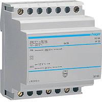 Трансформатор модульний 230В/12-24 В, 16ВА код ST313