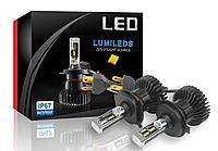Светодионые автолампы LED X5 Philips Luxeon ZES, H4, 6000LM, 6500K, 50W, 9-36V