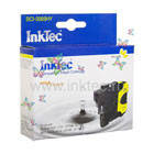 Картридж струйный InkTec для Brother LC39Y, LC985Y/ DCP-J125/ J315W/ J515W, MFC-J265W/ J410/ J415W, Yellow