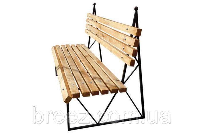 Кованая скамейка Париж 1.5 м, фото 2