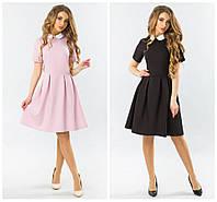 Платье с воротничком летнее от производителя р. 42-48