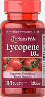Ликопин, Lycopene 10 mg Puritan's Pride, 100 капсул